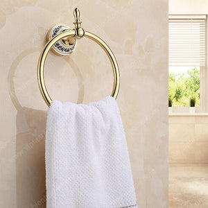 Bakala Fashionable Space Aluminum Moving Towel Rack Towel Rail Towel Rod Br5507