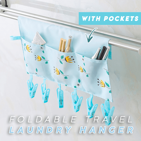 Foldable Travel Laundry Hanger
