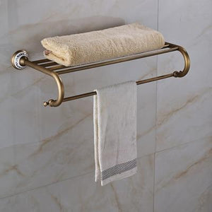 Retro Style Bathroom Towel Holder