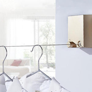 Invisible Indoor Clothesline