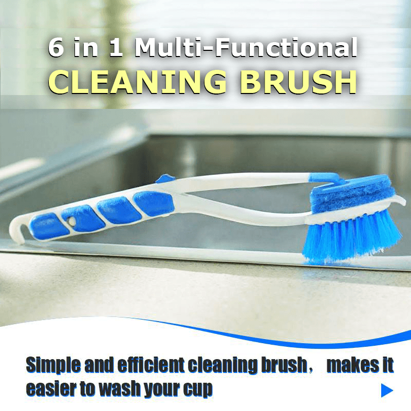 6 in 1 Multi-Functional Cleaning Brush