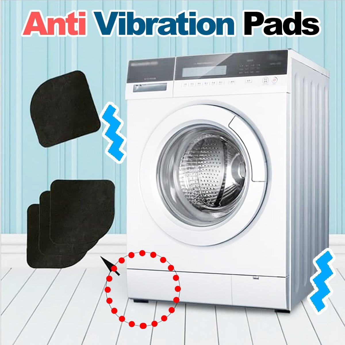 Washing Machine Anti Vibration Pads