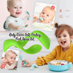 Baby Curve Self-Feeding Fork Spoon Set