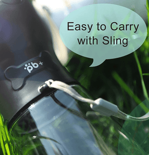 Portable Dog Water Filter Bottle