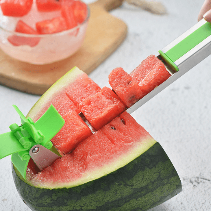 Easy Watermelon Windmill Cutter