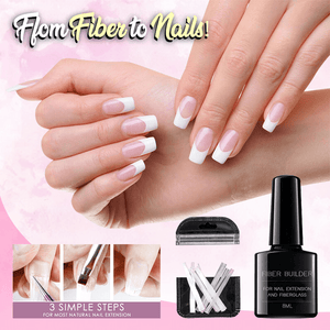 Fiber Glass Nail Extension Kit