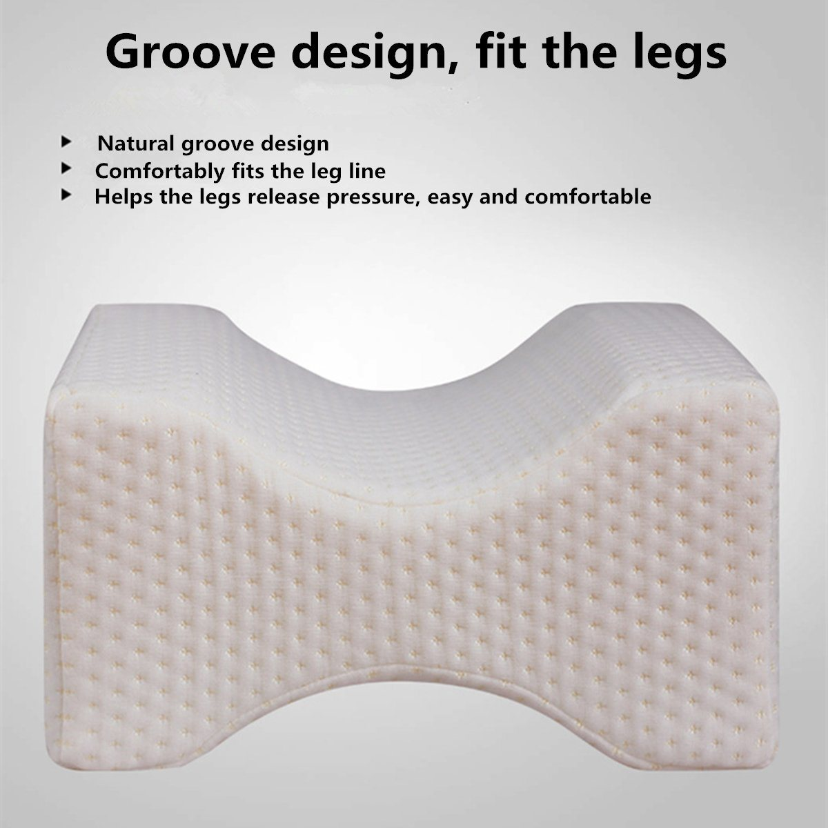 Better Sleep Memory Foam Leg Pillow