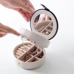 2-Layers Portable Jewelry Box