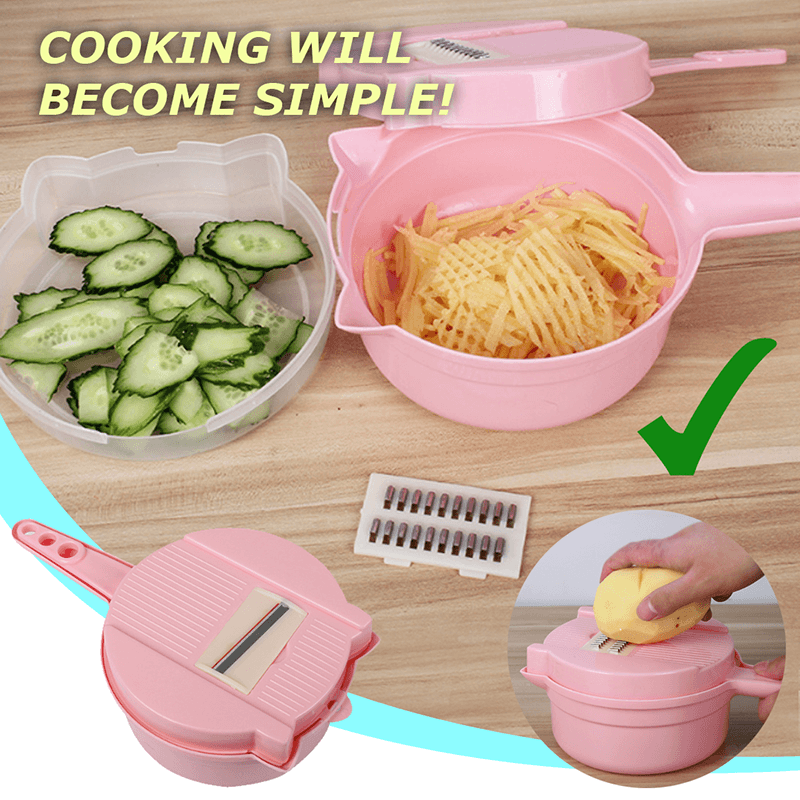 9 IN 1 Multi-Function Food Chopper