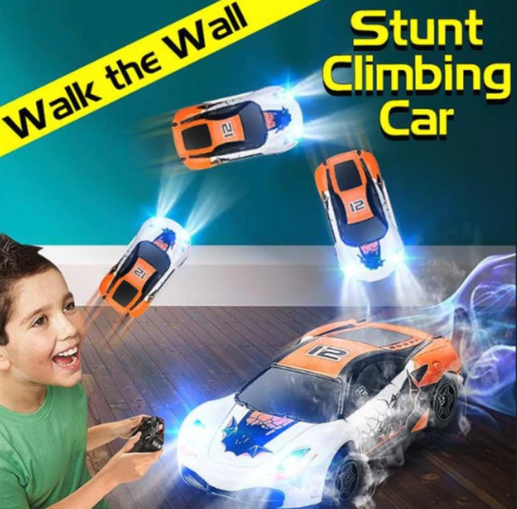 Gravity Defying Wall Climbing RC Car
