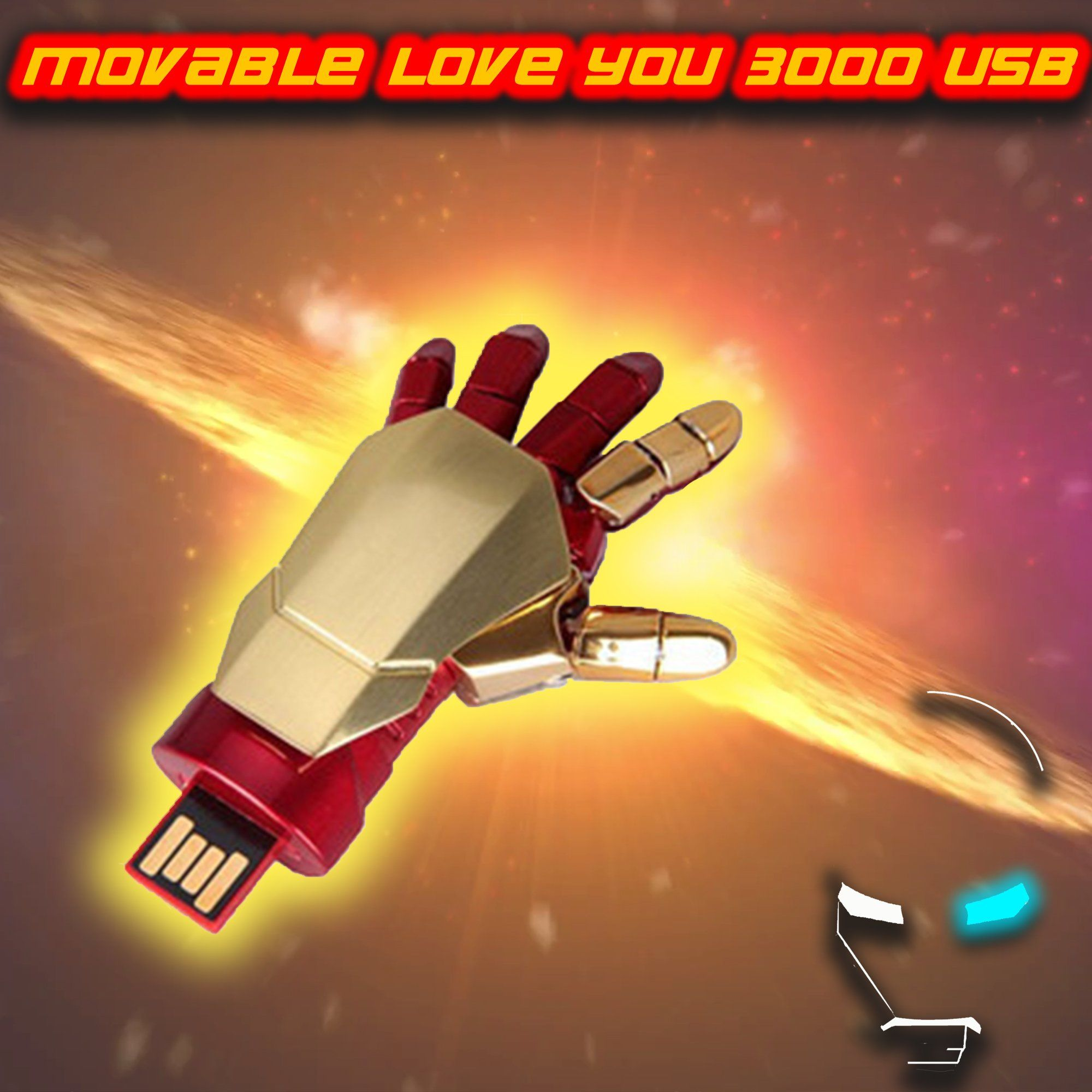 Movable Love You 3000 USB