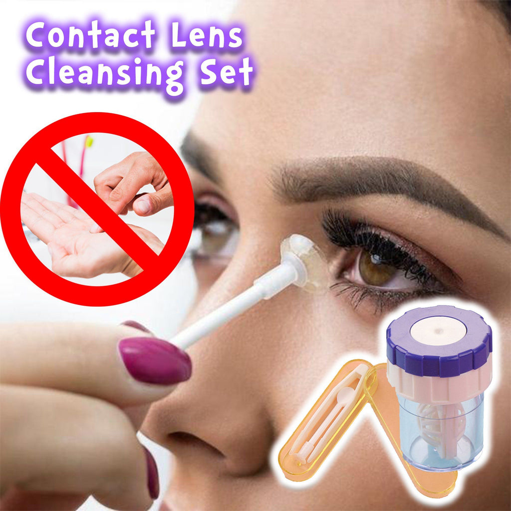 Contact Lens Cleansing Set