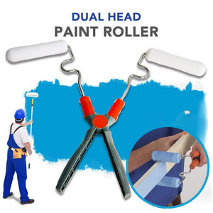 Dual Head Paint Roller