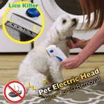 Pet Electric Head Lice Comb Removal