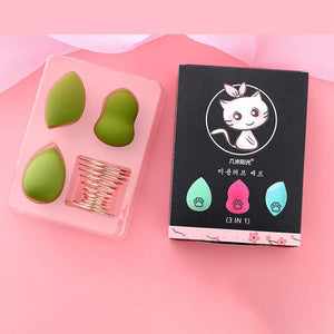 Premium Makeup Sponge Blender - Set For 3