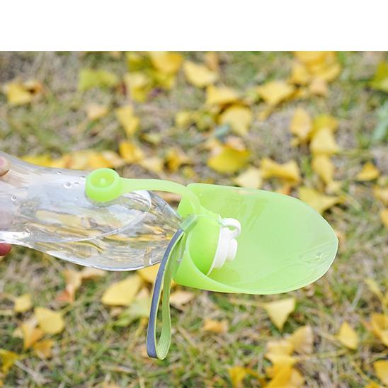 Dog leaf drinking bottle