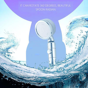 Pressure Amplifying Supercharged Shower Head