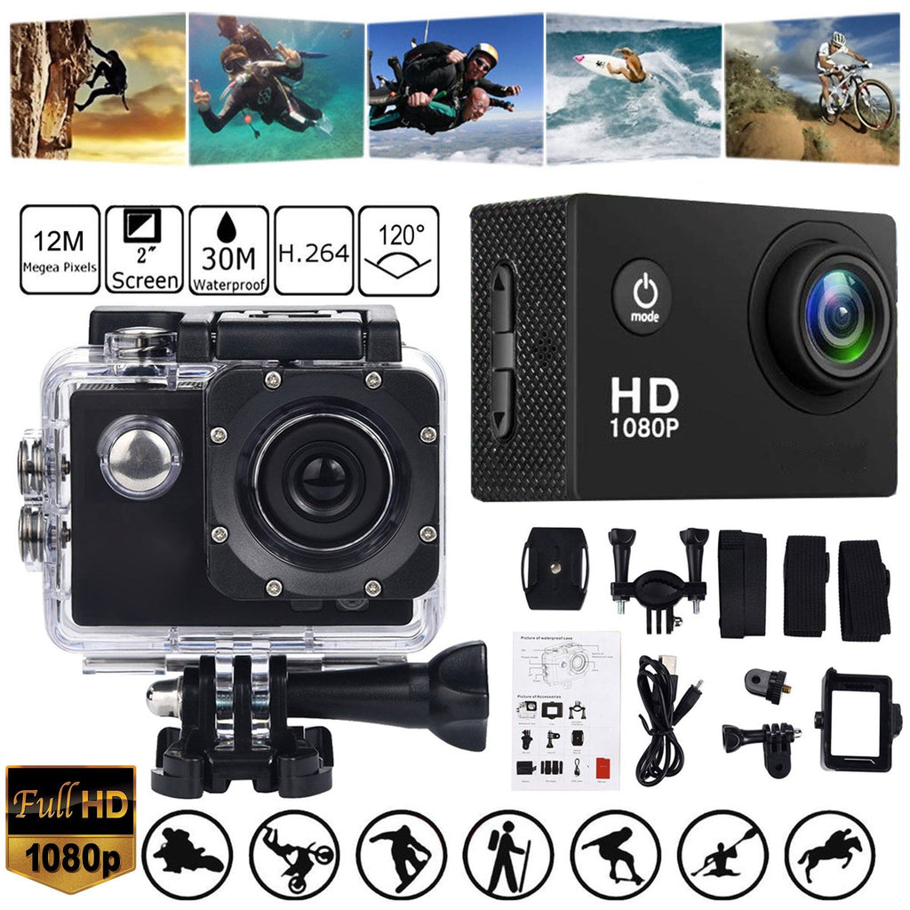 Pocket 1080P Sports Action HD Camera