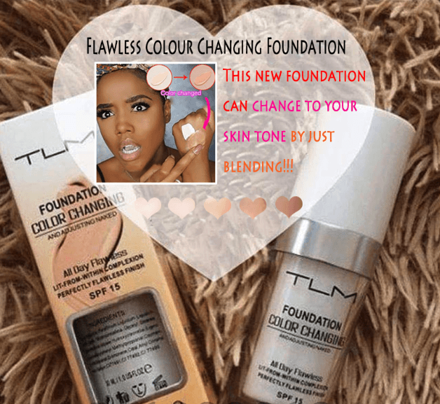 Magic Flawless Colour Changing Foundation