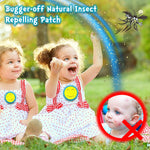 Bugger-off Natural Insect Repelling Patch