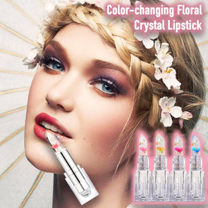Color-changing Floral Crystal Lipstick