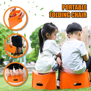On The Go Portable Folding Chair