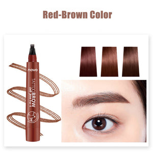 Waterproof Fork Tip Eyebrow Tattoo Pen – blossomthing.com