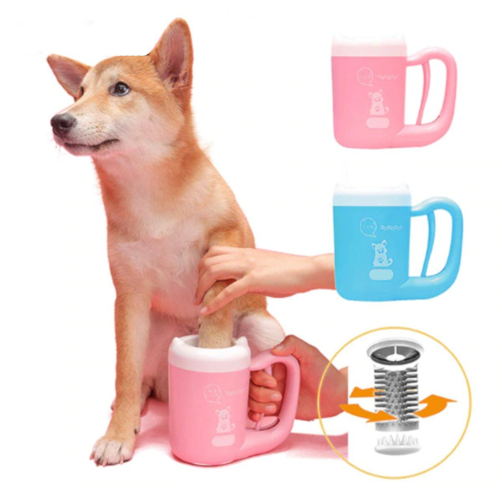 Rotating Speed Paw Cleaning Cup For Dogs