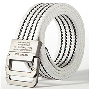 Non-Porous Adjustable Canvas Belt