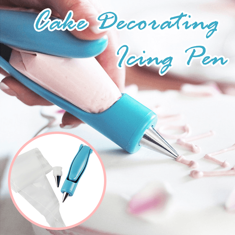 Cake Decorating Icing Pen Set