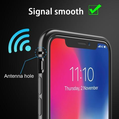 9H Magnetic Full Coverage Phone Case