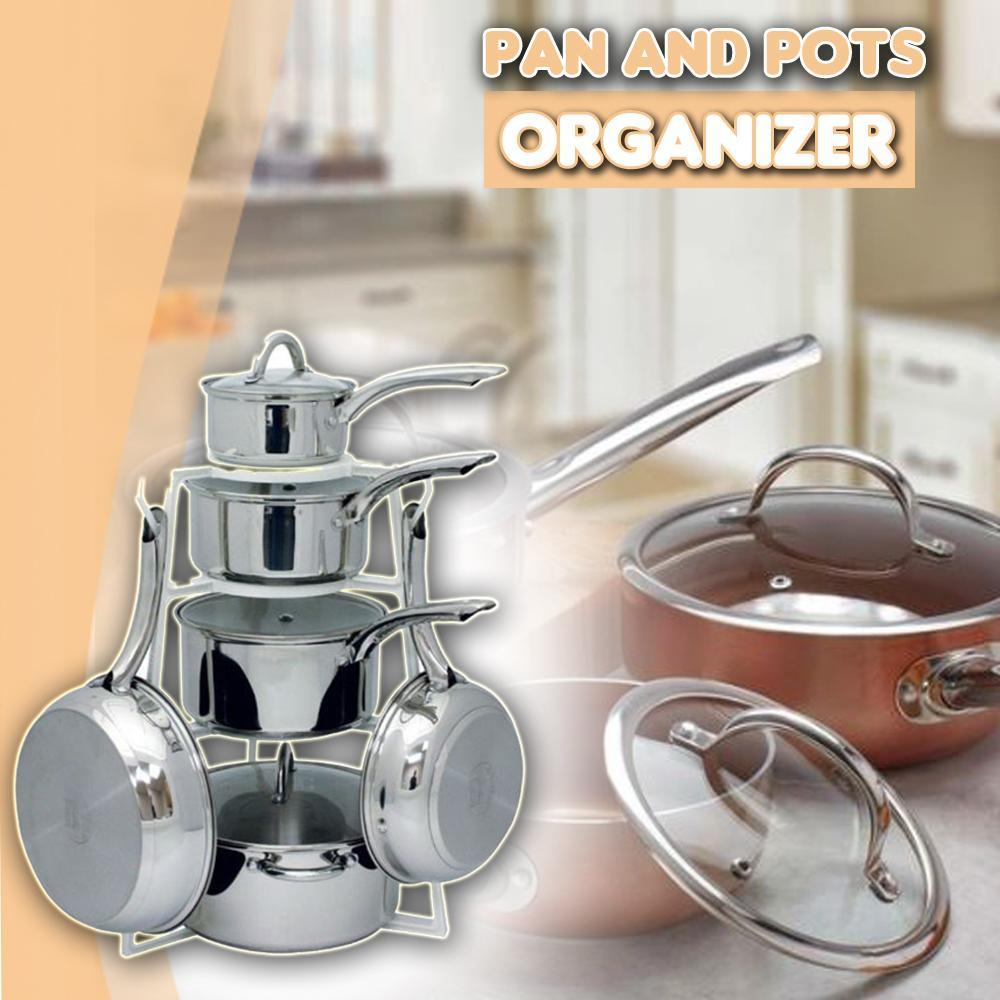 Vertical Pan and Pot Organizer