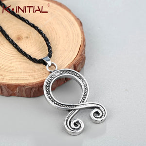 Kinitial Troll Cross Charm Necklace Retro Folklore Vikings Protection Pagan Symbol Runes Amulet Norse Pendants Necklaces Jewelry - Magic-Charms.com