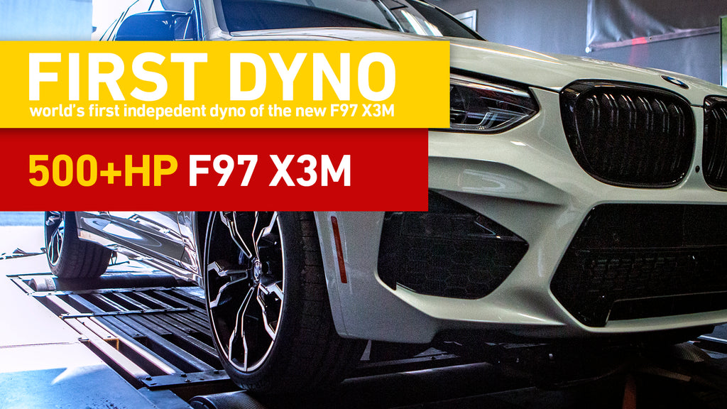 IND F97 X3M Competition Baseline Dyno - Stock