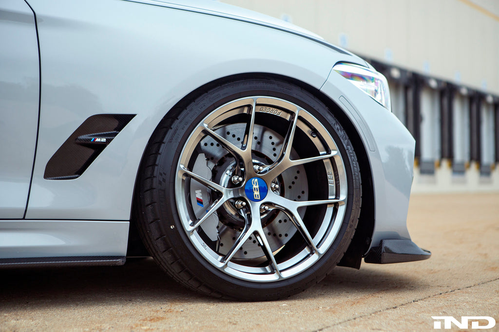 BBS F8X FI-R Wheel Set (19 - Inch Standard Fitment) - iND Distribution