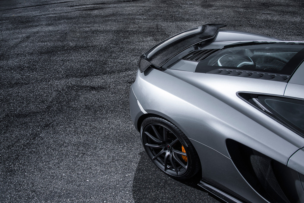 Vorsteiner MCLAREN MP4-12C Active Wing Blade Carbon Fiber Glossy (V-MC) - iND Distribution