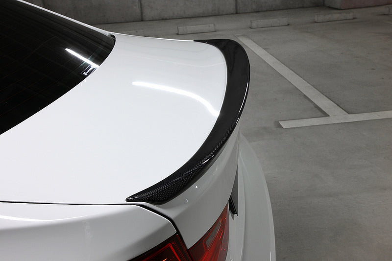 3D Design F30 Carbon Fiber Trunk Spoiler 1