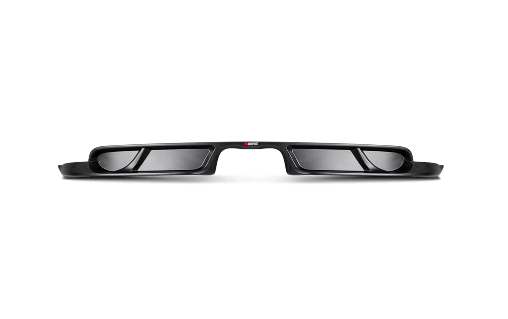Akrapovic 911 gt3 carbon fiber rear diffuser 991 - iND Distribution