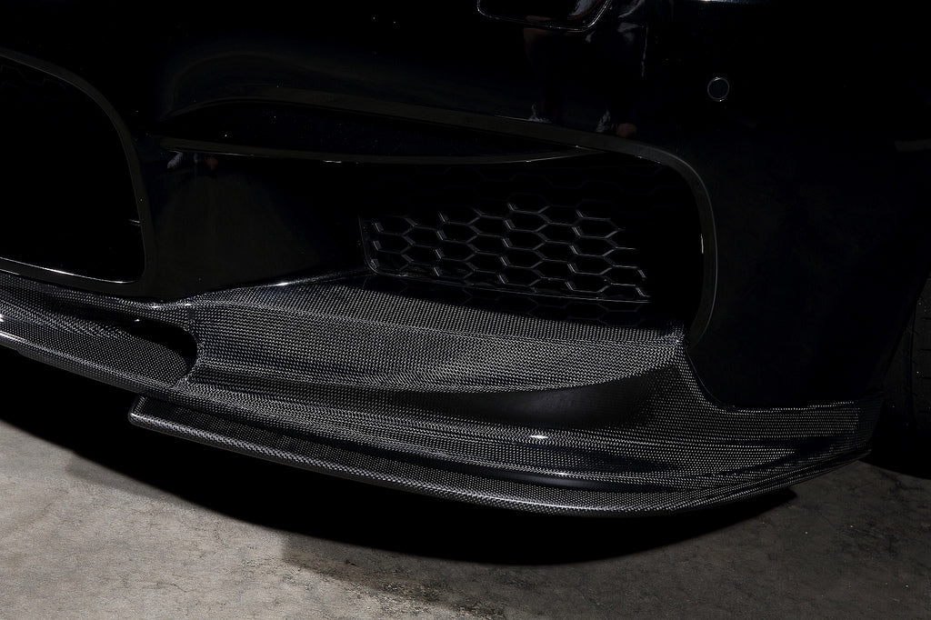 3d design f06 f12 f13 m6 carbon fiber front lip spoiler - iND Distribution