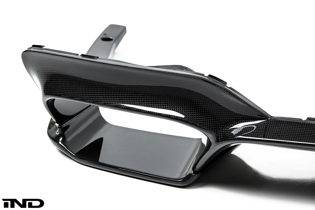 3d design f06 f12 f13 m6 carbon fiber rear diffuser set - iND Distribution