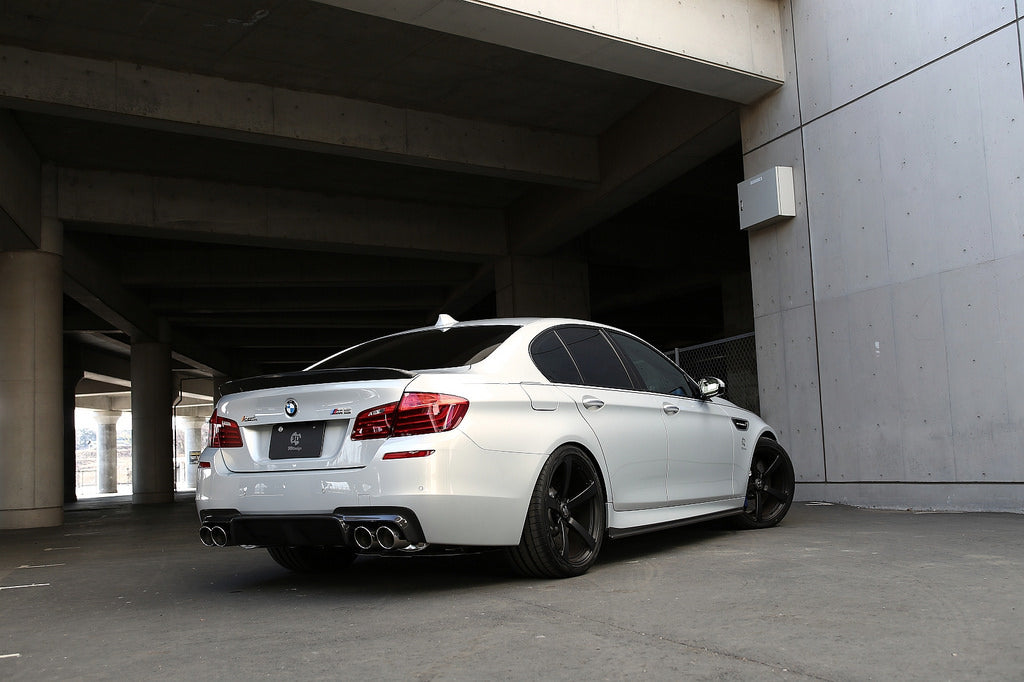 3D Design F10 M5 Carbon Fiber Rear Diffuser 7