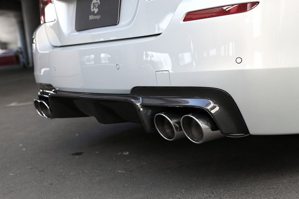 3D Design F10 M5 Carbon Fiber Rear Diffuser 3