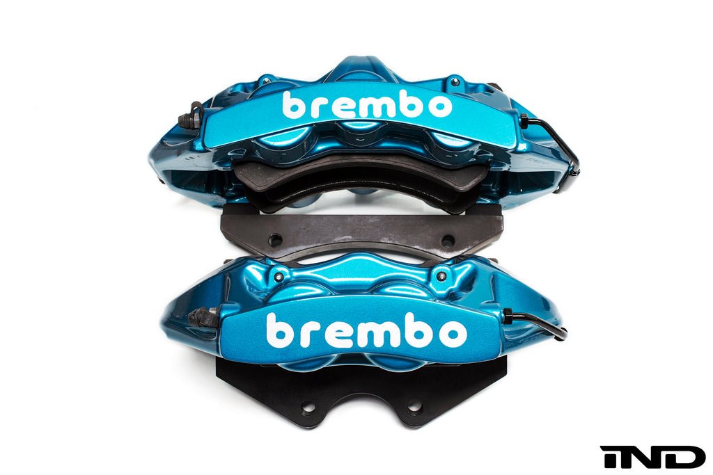 Brembo f8x m3 m4 gt big brake kit 380x28mm 2 piece rear - iND Distribution