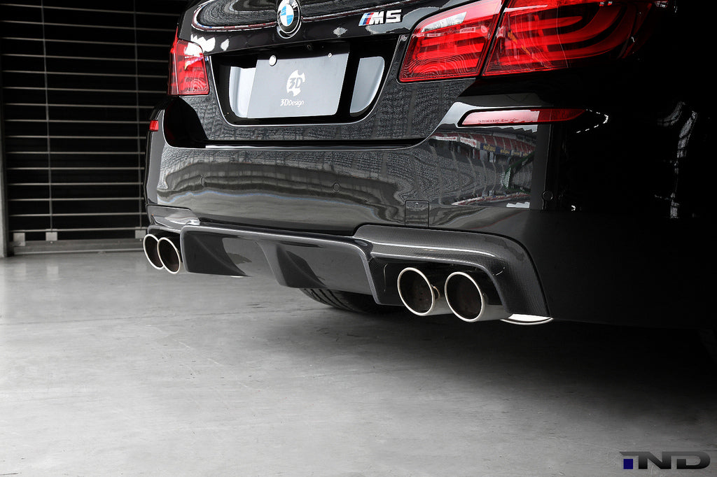 3D Design F10 M5 Carbon Fiber Rear Diffuser 5