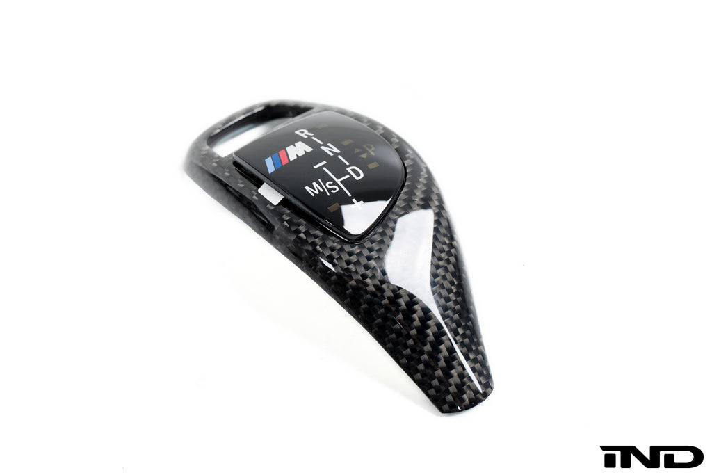 BMW m Performance f15 x5 f16 x6 carbon fiber shift knob trim - iND Distribution