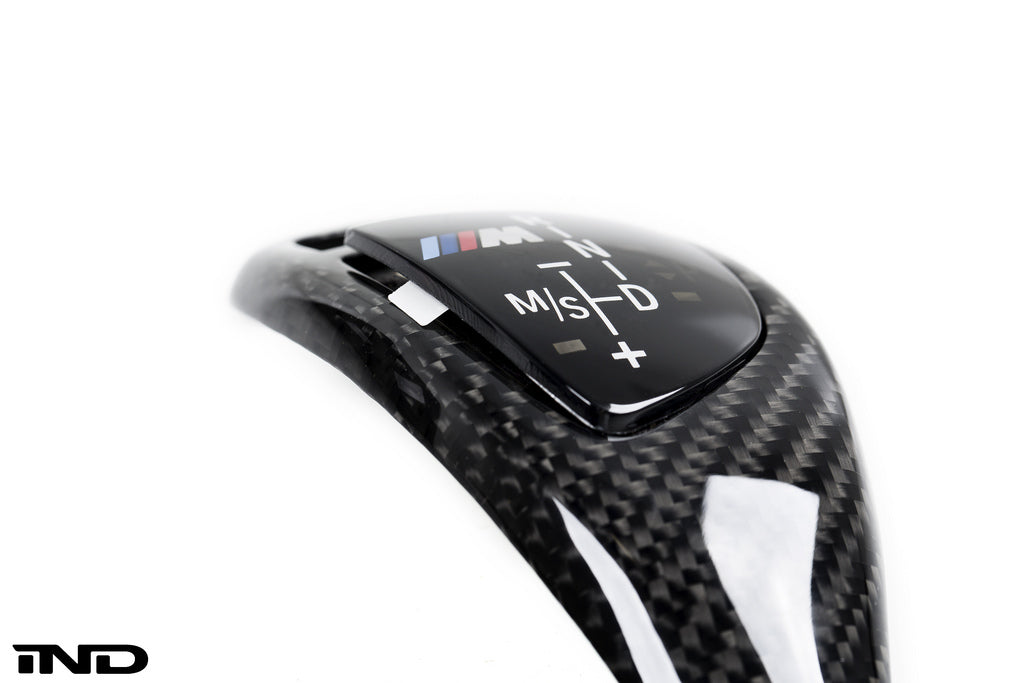 BMW M Performance F15 X5 / F16 X6 Carbon Fiber Shift Knob Trim 1