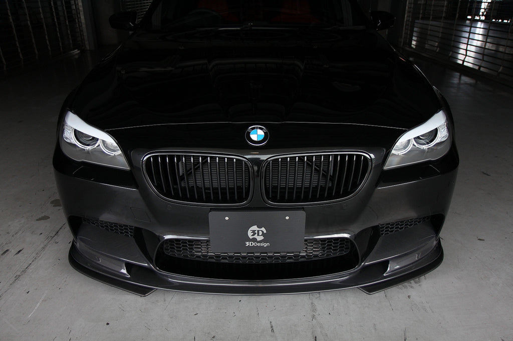 3D Design F10 M5 Carbon Fiber Front Lip Spoiler Set 10