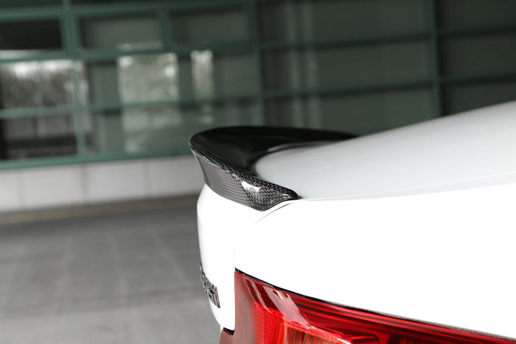 3d design f22 carbon fiber trunk spoiler - iND Distribution