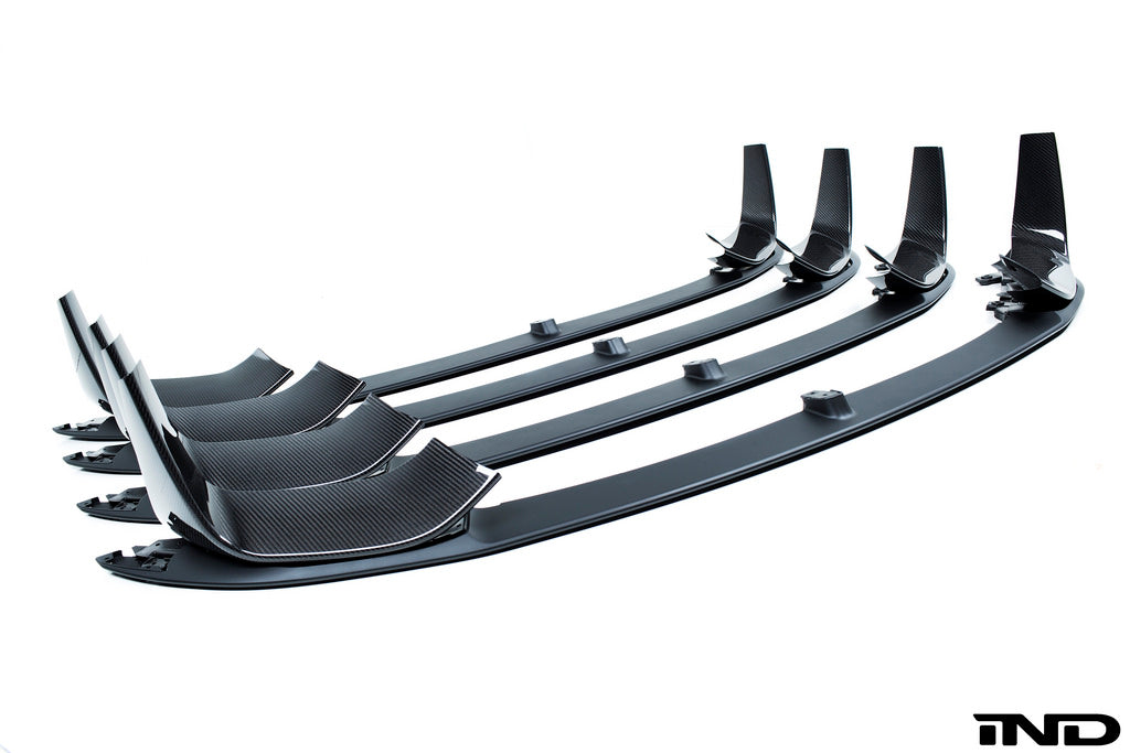 BMW m Performance f8x m3 m4 carbon front splitters lower lip splitter - iND Distribution