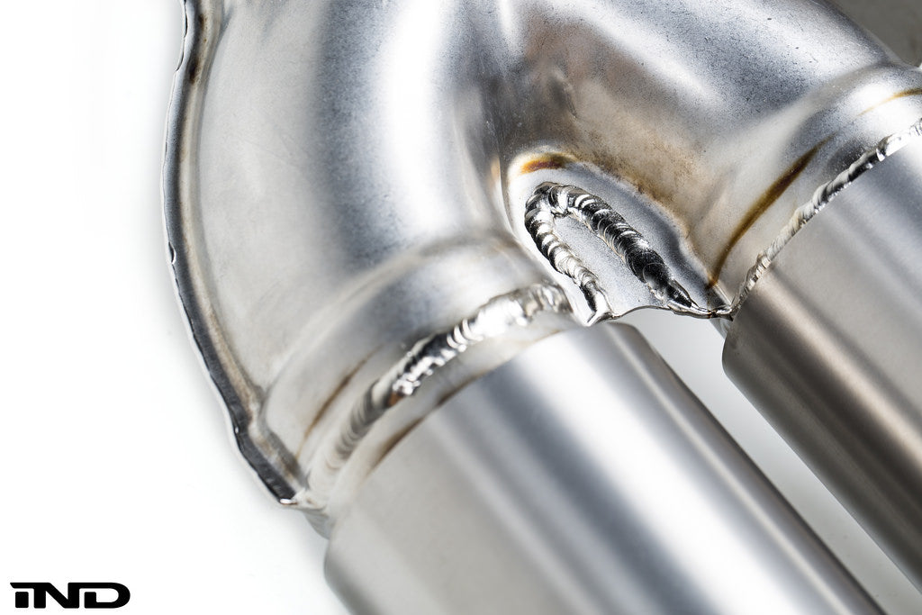 BMW m Performance f8x m3 m4 titanium exhaust system - iND Distribution